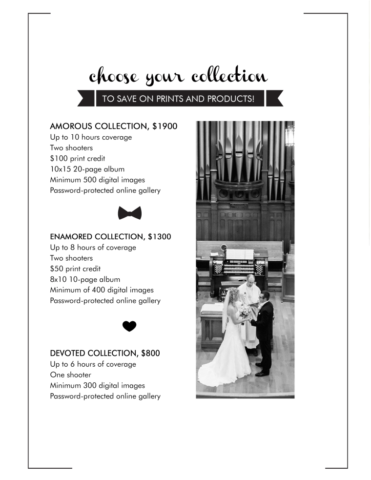 wedding-collection-sheet